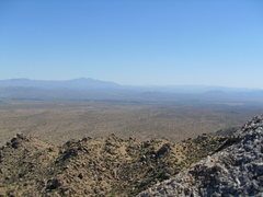 Rock Climbing Photo: Spectacular vistas are available from the top.  No...