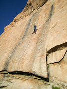 Rock Climbing Photo: The climb is easy to find with the giant flake to ...