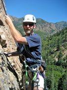 Rock Climbing Photo: Baxter on Steort's