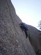 Rock Climbing Photo: At the 1st bolt, regular start.