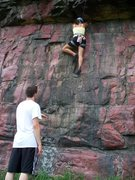 Rock Climbing Photo: Climbing Balcony Center