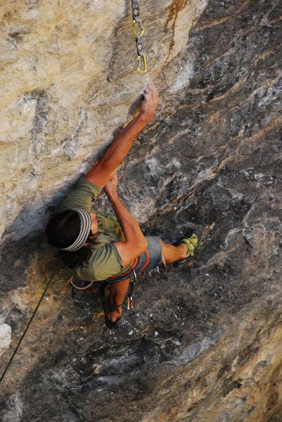Rock Climbing Photo: Barlow on Teardrop