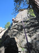Rock Climbing Photo: Tim Davis follows Full Nelson Reilly (5.10) on The...