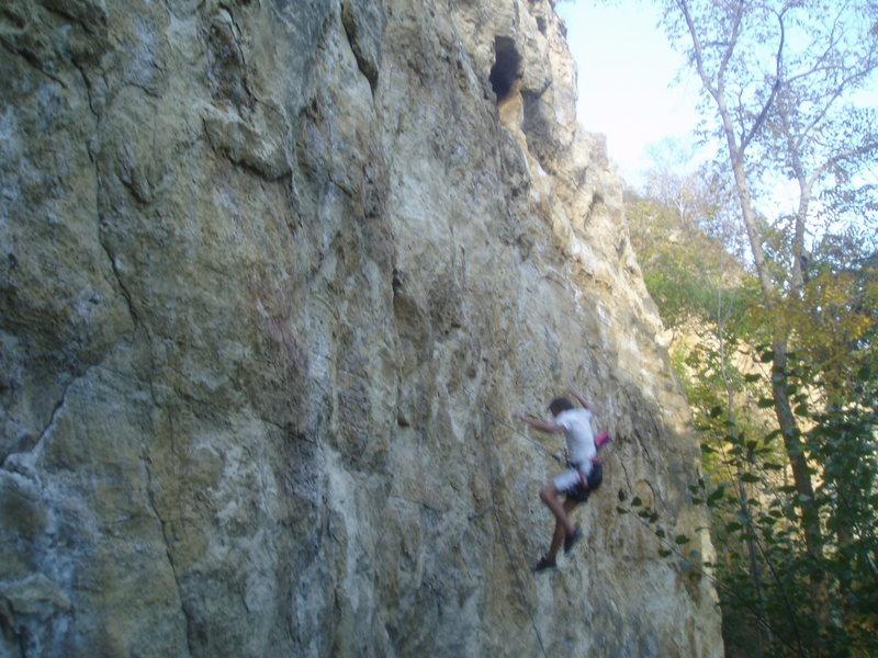 Rock Climbing Photo: ...on a beautiful fall day.
