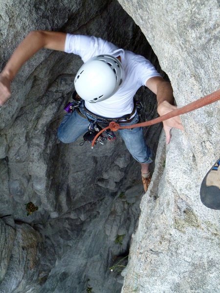 Rock Climbing Photo: Emerging from reconciliation