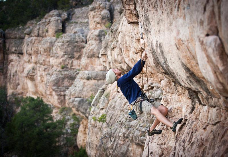 Rock Climbing Photo: Jake on Team Anorexia.