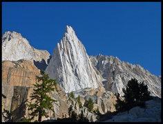 Rock Climbing Photo: The top 2/3 of Incredible Hulk, as seen near the e...