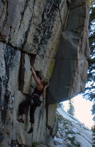 Rock Climbing Photo: Start of Ok Balto, hike!