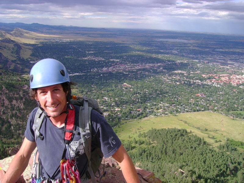 Rock Climbing Photo: Flat Irons