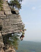 Rock Climbing Photo: Mark Arrow on the Dangler