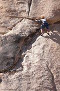 Rock Climbing Photo: Toe Jam action