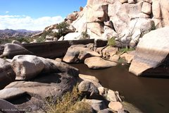 Rock Climbing Photo: Low water level, October 4, 2010