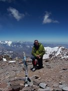 Rock Climbing Photo: Top of the Americas!