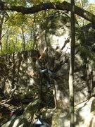 Rock Climbing Photo: Slap happy Rhoads.