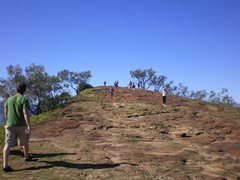 Rock Climbing Photo: Taking a stroll in Aussie land.