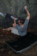 Rock Climbing Photo: having some fun.