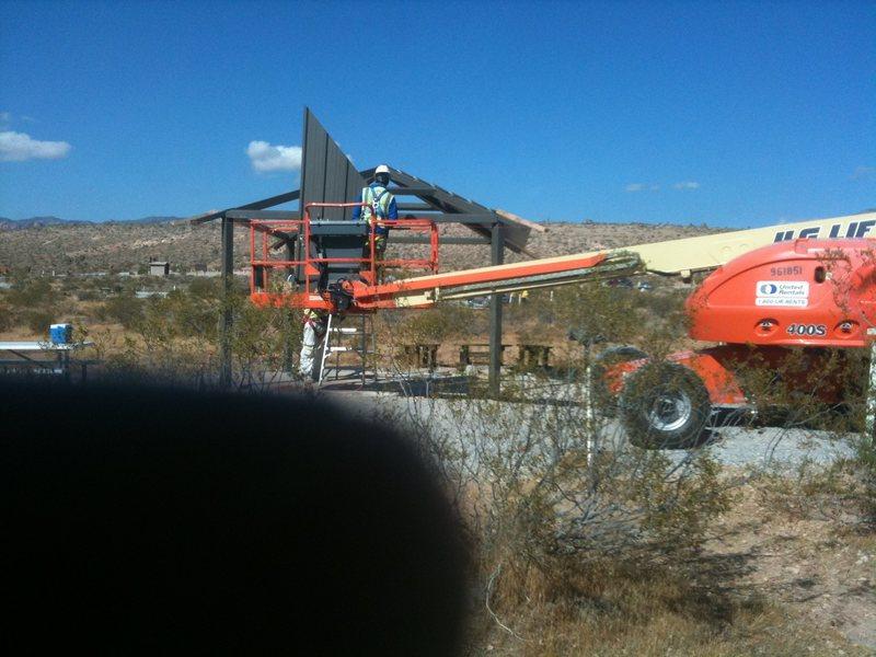 Rock Climbing Photo: Under construction
