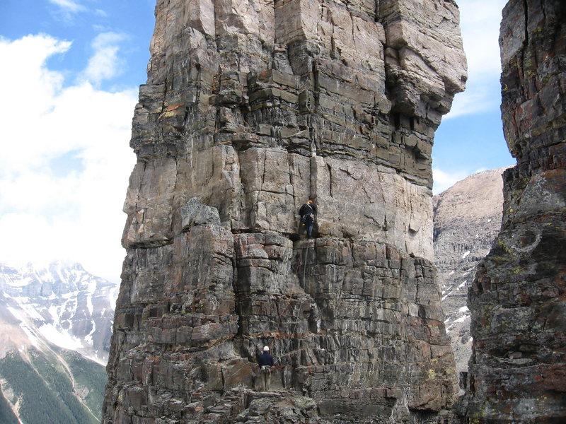 Rock Climbing Photo: The Grand Sentinel, Lake Louise, Alberta, Canada