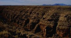 Rock Climbing Photo: Canyon Diablo and the San Francisco Peaks.