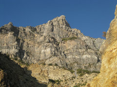 Rock Climbing Photo: Squaw Peak from the Black Rose area in Rock Canyon...