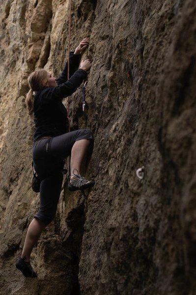 Rock Climbing Photo: Red Wing: Fun Crack