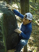 Rock Climbing Photo: Barefoot send.