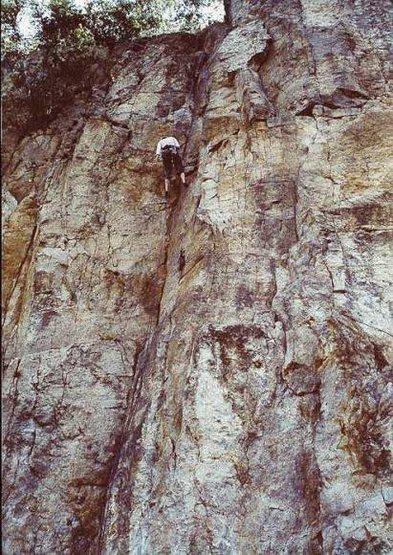 Rock Climbing Photo: Rappeling