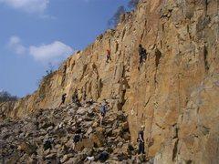 Rock Climbing Photo: Shreisheim crowed