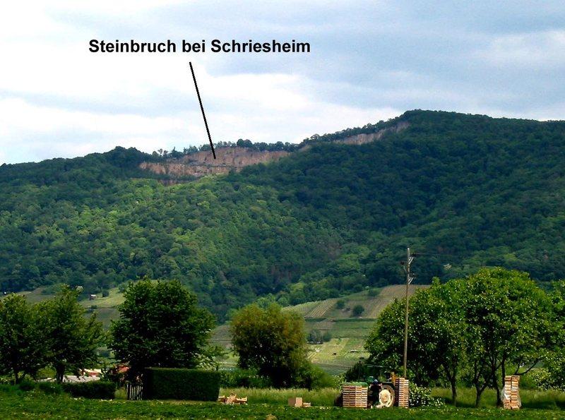 Shreisheim climbing area.