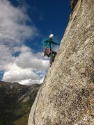 Rock Climbing Photo: Aaron Cassebeer on Upper Royal's Arch. Photo: Vick...