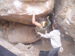 Rock Climbing Photo: pow pow v8