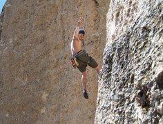 Rock Climbing Photo: Sport climbing ten sleep canyon