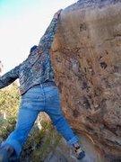 Rock Climbing Photo: stick