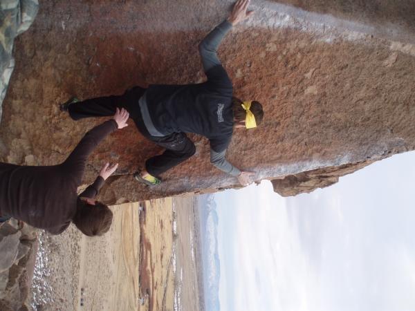 Rock Climbing Photo: atari v6 bishop 09/10