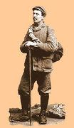 Rock Climbing Photo: The top man O.G.Jones