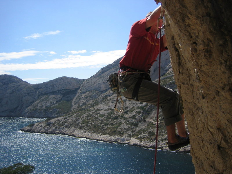 Finding bliss in Les Calenques, near Marseille, France.