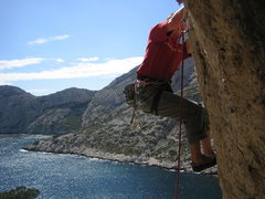 Rock Climbing Photo: Finding bliss in Les Calenques, near Marseille, Fr...