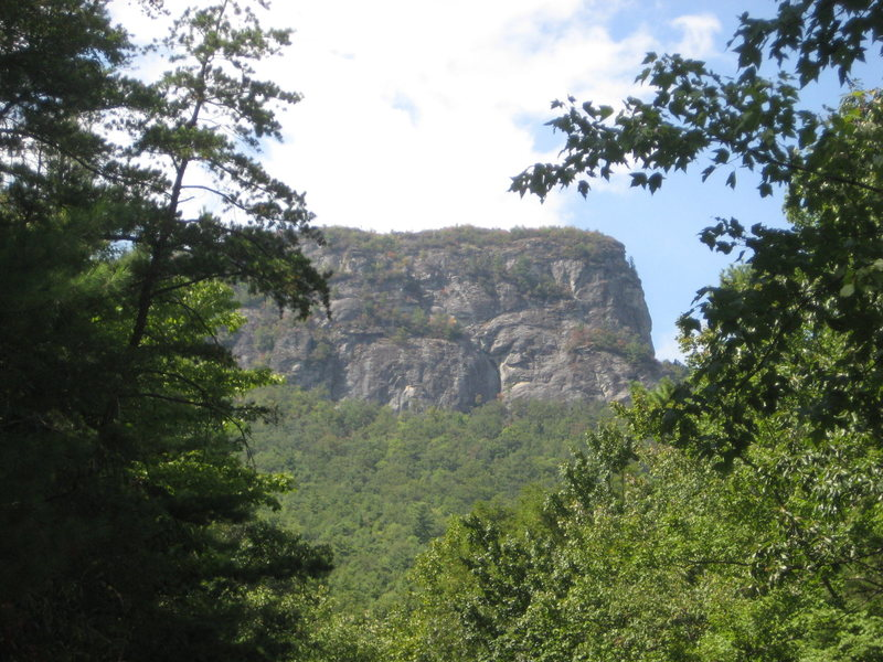Rock Climbing Photo: East Face of Table Rock