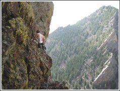 Rock Climbing Photo: yellow spur