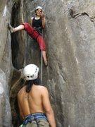 Rock Climbing Photo: crazy horse buttress