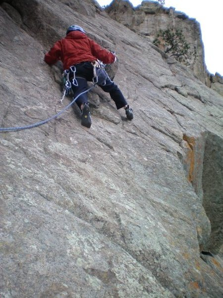 Rock Climbing Photo: bihedral.