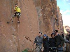 Rock Climbing Photo: potash road, moab