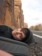 Rock Climbing Photo: chillin' on potash road