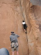 Rock Climbing Photo: 30 seconds over potash