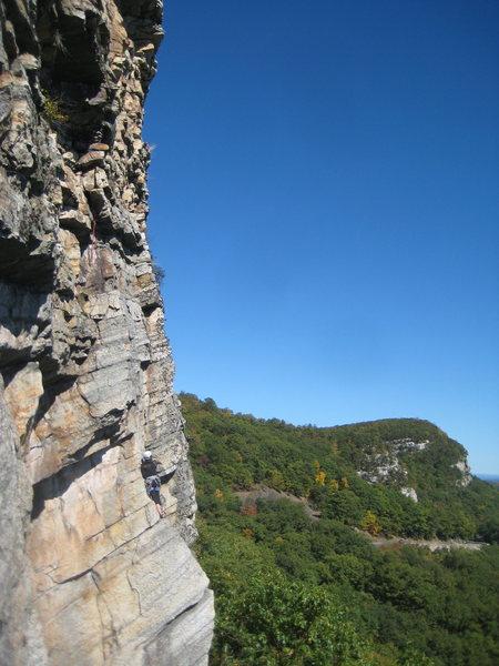 Rock Climbing Photo: Stranded on Birdland