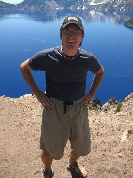 At Crater Lake