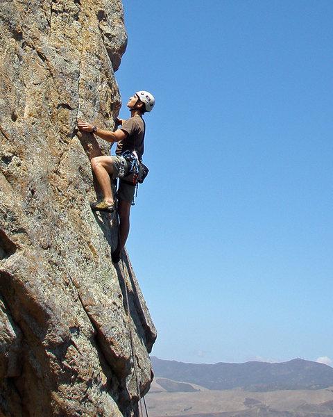Rock Climbing Photo: Bishop Peak 8/30