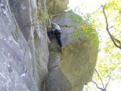 Rock Climbing Photo: TR Second - great climb!