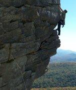 Rock Climbing Photo: edge of a dream