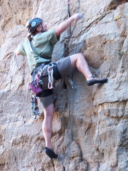 Rock Climbing Photo: Clip...